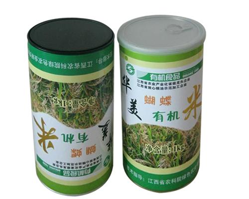 大米食品纸罐