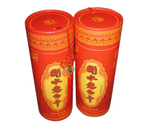 红酒包装纸桶
