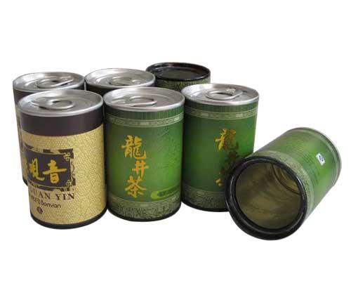 龙井茶叶纸筒
