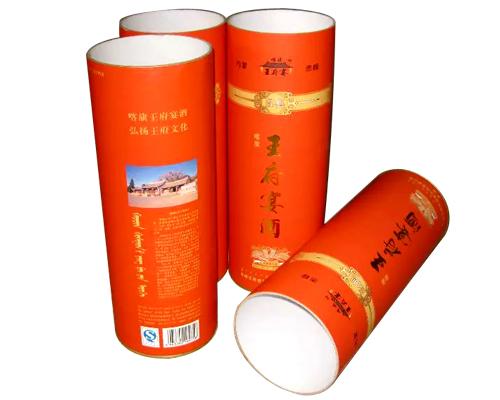 圆柱纸筒包装盒