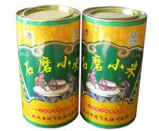 石磨小米纸罐