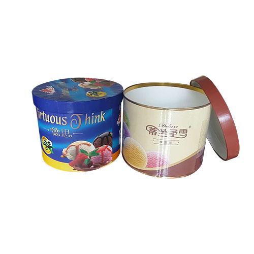 冰激凌纸罐