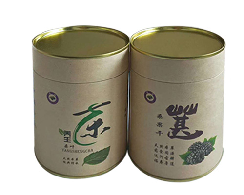 养生茶纸罐