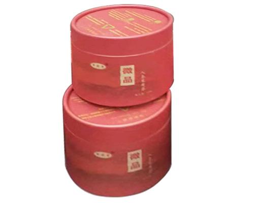 微品茶纸罐
